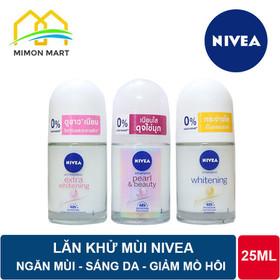 Lăn khử mùi Nivea 25ml sáng mịn mờ vết thâm - LĂN NIVEA 12ML