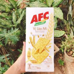 Combo 2 hộp Bánh AFC Dinh Dưỡng 200g/hộp tự chọn vị rau và lúa mì
