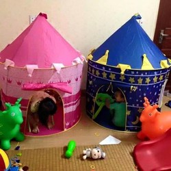 Lều hoàng tử công chúa cực đẹp cho bé chơi