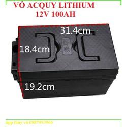 Vỏ bình acquy lithium 12v96Ah