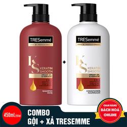 Dầu gội và Dầu xả Tresemme hàng nhập khẩu Thailand 450ml