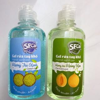 Gel rửa tay khô diệt khuẩn[ 1 CHAI 250ML], phòng ngừa dịch bệnh Chính Hãng - SPCA 250ml thumbnail