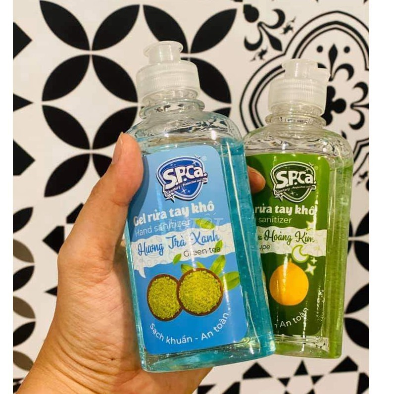 Gel rửa tay khô diệt khuẩn[ 1 CHAI 250ML], phòng ngừa dịch bệnh Chính Hãng - SPCA 250ml 5