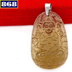 Phật Quan Âm nghìn tay nghìn mắt 3 cm đá obsidian