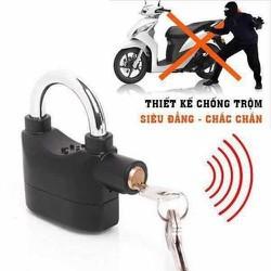 [HỖ TRỢ PHÍ VC] Khoá chống trộm có còi báo động- Có thể dùng khoá cửa