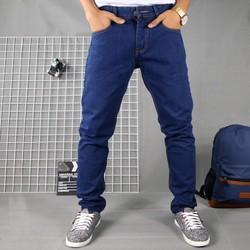 [SHOP HỖ TRỢ SHIP] Quần jean nam xanh đen vải dày, không ra màu TS61