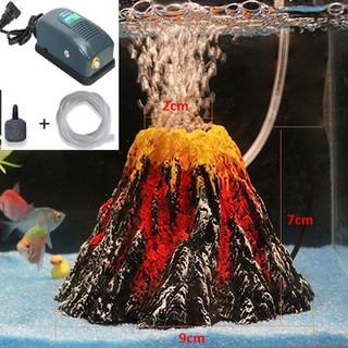 Máy tạo khí oxy hồ cá cảnh mô hình núi lửa - MÔ HÌNH NÚI LỬA thumbnail