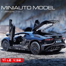 Mô hình xe hơi - Mô hình xe hơi đen