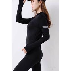 Áo khoác thể thao nữ ôm body. Áo khoác tập Gym, tập Yoga. Vải thun dệt kim cao cấp
