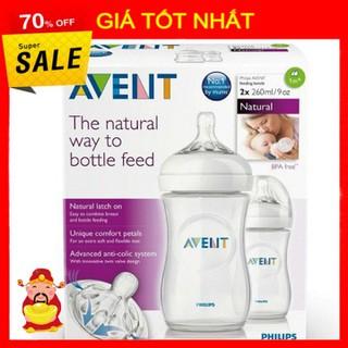 Bình Sữa Avent Núm Mô Phỏng Tự Nhiên - Bình Avent 125ml, 260ml, 330ml thumbnail