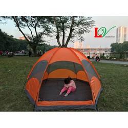 Lều cắm trại 3-5 người 2 lớp, lêu du lịch gia đình, lều trại tập thể
