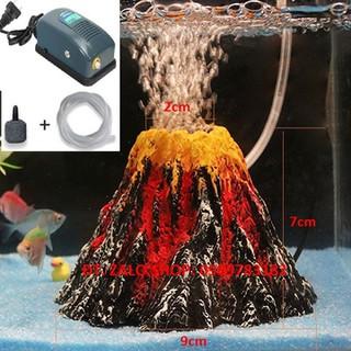 Máy sủi oxy bể cá cảnh mô hình núi lửa - MÔ HÌNH NÚI LỬA 1 thumbnail