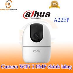 Camera WiFi 2.0MP Dahua Imou A22EP FullHD 1920x1080p đàm thoại 2 chiều - Hãng phân phối