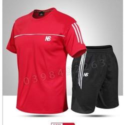 Đồ bộ thể thao nam Bộ quần áo thể thao nam mặc nhà