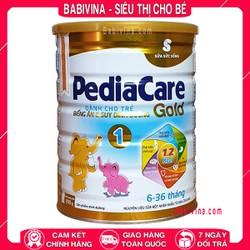 [CHO XEM HÀNG] Sữa PediaCare Gold 1 900g Trẻ Biếng Ăn, Chậm Lớn