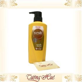 Dầu xả mềm mượt diệu kỳ Sunsilk Co-Creations Thái Soft & Smooth Serum Conditioner - 425ml - vàng - Xa-Sunsilk-Vang-425ml