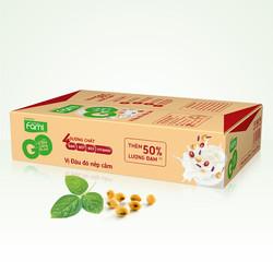 Thùng Sữa Đậu Nành Famigo Đậu Đỏ Np Cẩm 200ml x 36 Hộp