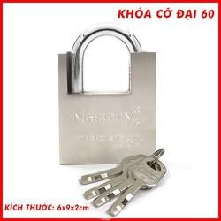 [miễn phí vận chuyển toàn quốc]-combo 2 ổ khóa chống cắt hợp kim - khóa chống chộm 60mm