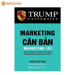 Sách alphabooks - Marketing căn bản
