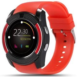 Đồng hồ thông minh thể thao Smart Watch V8 gắn sim nghe gọi, nhắn tin nghe nhạc, màn hình cảm ứng - CÓ TIẾNG VIỆT