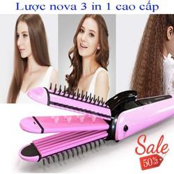 Lược điện đa năng tạo kiểu tóc 3in1