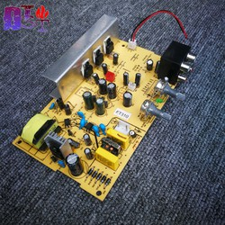 Mạch khuếch đại âm thanh TDA2030 2.1 tích hợp nguồn 220V - Bản cao cấp