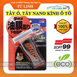 Dung dịch tẩy ố, tẩy Nano kính ô tô Glass Compound Roll on - Soft99 - Tẩy Kính Chuyen Dụng