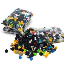 Gói 500 đinh tán, chốt nhựa chuyên dùng trang trí xe ô tô, xe hơi