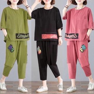Set Bộ Cotton Lửng Dạo Phố Siêu Hot - SBL_6094 thumbnail