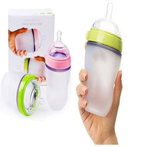 Bình pha sữa 250ml-Bình sữa chống sặc cho trẻ sơ sinh