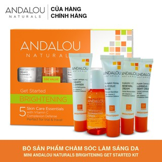 [Tách set] Bộ Sản Phẩm Chăm So c Da Mini Andalou Naturals Brightening Get Started Kit - 25511 thumbnail