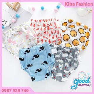 Quần Bỏ Bỉm Goodmama 6 Lớp siêu thấm hút dành cho bé từ 5-17kg, quần bỉm giặt được, quần bỉm dùng nhiều lần - QBB02700 thumbnail