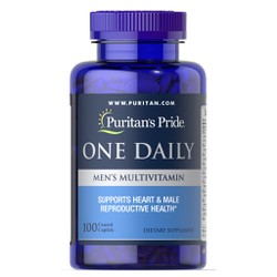 Vitamin Tổng Hợp Tăng Cường Miễn Dịch Ngừa Cảm Cúm Cho Nam Giới Puritan S Pride One Daily Men S Multivitamins 100V