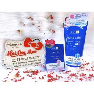 Combo sữa rửa mặt và kem dưỡng trắng da xanh - v910 thumbnail