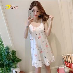 Đầm mặc nhà, váy ngủ QKT Vn27