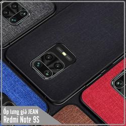 Ốp lưng XM Redmi Note 9S giả JEAN viền TPU dẻo