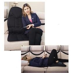 Đệm Ghế Massage Toàn Thân Hồng Ngoại 5 Bi - Đệm Ghế Massage 5 Bi