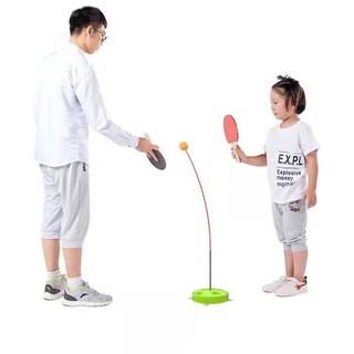 [MIỄN SHIP] Bộ bóng bàn 3 bóng vợt gỗ luyện phản xạ thể dục mọi lúc mọi nơi - BONGBAN7 thumbnail