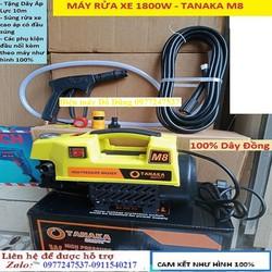 Máy rửa xe - máy rửa xe Tanaka M8 - 1800W