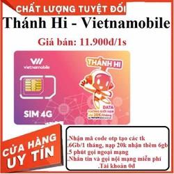 Sim Vietnamobile code