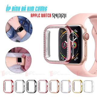 Ốp Bảo Vệ Apple Watch Đính Đá dành cho Series 5 4 3 2 1 38mm 40mm 42mm 44mm - Diamond_Case thumbnail