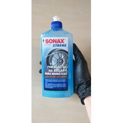 [MẪU MỚI] Gel làm đen bóng, bảo vệ cao su lốp xe ô tô mềm mại 500ml - Sonax xtreme tyre gloss gel