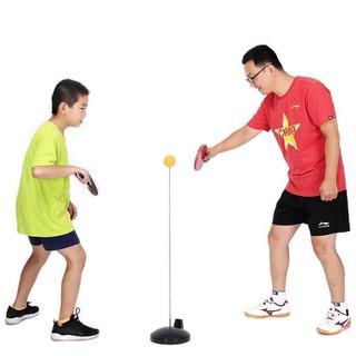 [MIỄN SHIP] Bộ bóng bàn 3 bóng vợt gỗ luyện phản xạ thể dục mọi lúc mọi nơi - BONGBAN7 2