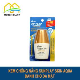 Kem chống nắng Sunplay Clear White dành cho da mặt tuýp 5g - 1 Sunplay vàng