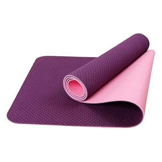 Thảm tập yoga 2 lớp TPE độ bám tốt-Thảm yoga,Gym 2 lớp - AEMTYG thumbnail