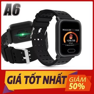 Vòng tay thông minh_đồng hồ thông minh A6 - vongtayA6 thumbnail
