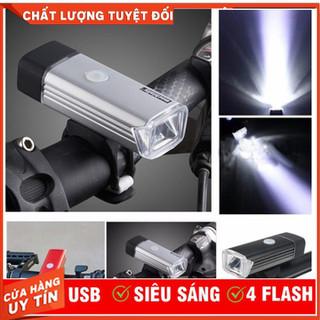 Đèn pha sạc USB Machfally cho xe đạp - Đèn pha sạc USB Machfally thumbnail