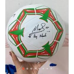 Bóng da cao cấp có in chữ ký các cầu thủ - Quà tặng Kun