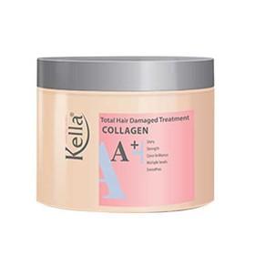 (chính hãng) Kem hấp dầu dưỡng tóc Kella Colagen A+ 300ml - KE03