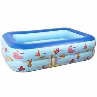 [Giá Sỉ] Bể Bơi 2 Tầng Cho Bé- 100X 150 Cm - EBZNR4kYzs thumbnail